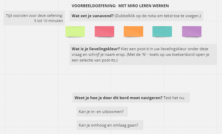 Welcome2Work - inlevingsspel - Miro